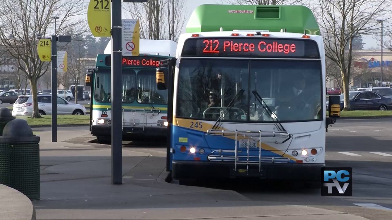 pierce transit promotes service changes with free rides through