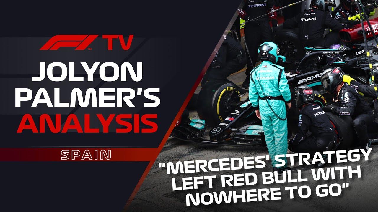 Max's Start, Mercedes' Strategy | Jolyon Palmer's F1 TV Analysis | 2021 Spanish Grand Prix