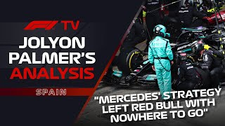Max's Start, Mercedes' Strategy | Jolyon Palmer's F1 TV Analysis | 2021 Spanish Grand Prix