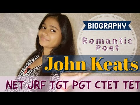 Biography of John keats - in Hindi