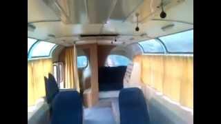 автобус ЛАЗ-965Б 58 г.в. вид внутри.MP4
