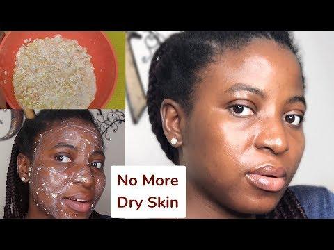 DIY Oatmeal Face mask for Dry Skin & Eczema | Kenny Olapade