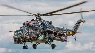 The Alien Tiger - Mi-35/24V of Czech Air Force [FHD 50p]