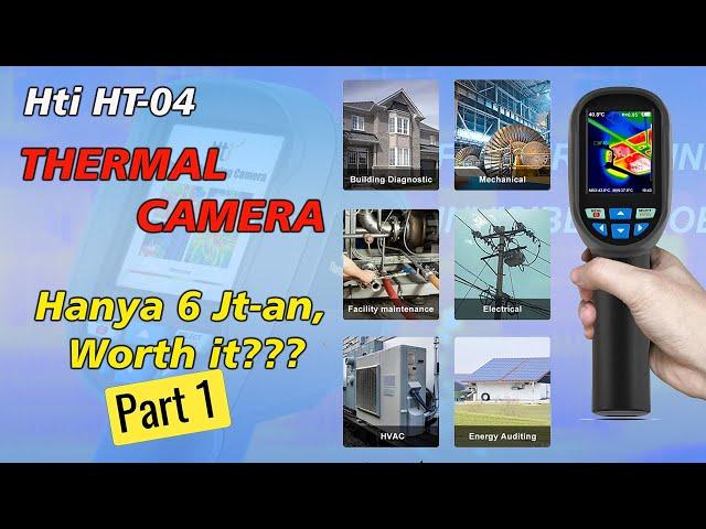 Unboxing dan Review, Thermal Imager 220x160 pixel paling ekonomis (Part 1)