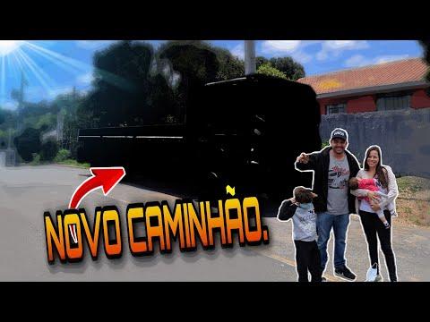 NOVO CAMINHÃO , FIM DO MISTÉRIO !!!