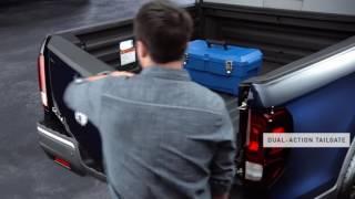 Ridgeline Anatomy: Dual Action Tailgate