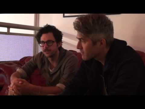 WE ARE SCIENTISTS INTERVIEW 2012 - NORWICH ARTS CENTRE