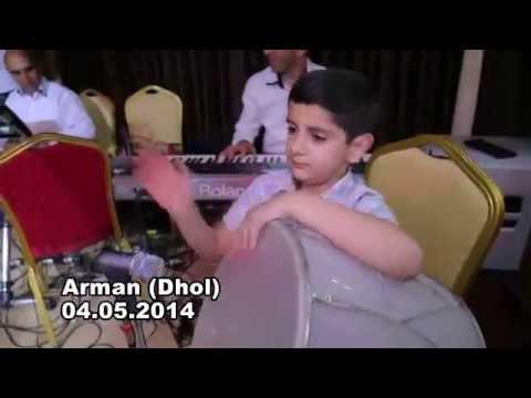 Arman Ghazaryan - Dhol 04.05.2014 Арман Казарян