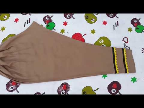 Ladies Simple Trouser Cutting And Stitching Ll Step By Step Ll Pakistani Fashion Designer