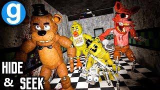 NEW FAZBEAR ULTIMATE PILL PACK HIDE AND SEEK | Five Nights at Freddy's Gmod (Garry's Mod Sandbox)
