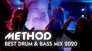 BEST DRUM & BASS MIX 2020 - Energetic DNB Live Set by METHOD