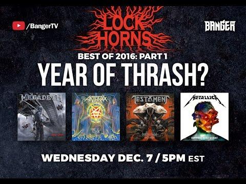 LOCK HORNS | Best Thrash Albums of 2016