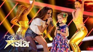 Andrè - 'Lasă-mă papa la mare'. Andreea Antonescu și fiica sa, Sienna, pe scena 'Next Star'
