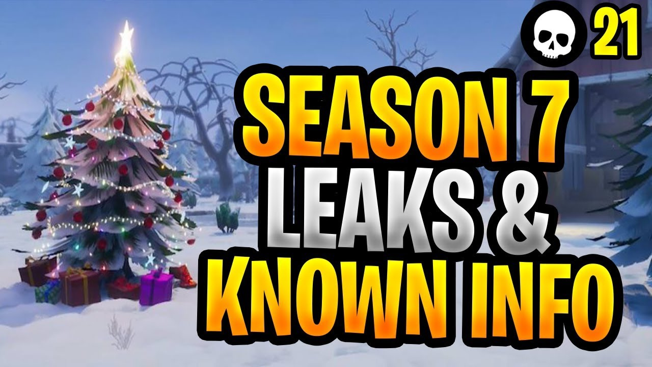 Everything We Know About Season 7 Of Fortnite Fortnite Season 7