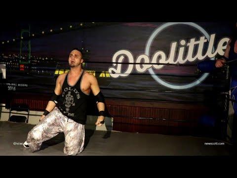 (NO DQ Bar Fight) Teddy Hart & Devin Chittick vs Shane Stephens & JEFF - VCW April 18th 2018
