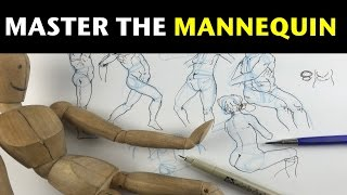 How to draw the human figure from imagination | Master the Mannequin