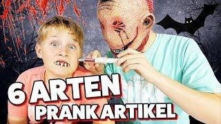 CREEPY GADGETS 👺 So wird deine Halloween Party zum Grusel Schocker  👹 TipTapTube Family 👨👩👦👦