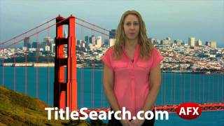 Property title records in Marin County California | AFX