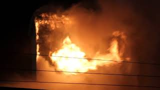 3 Alarm fire at Mainland Sawmill in Vancouver