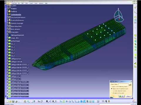 CATIA Marine - Superyacht Structure