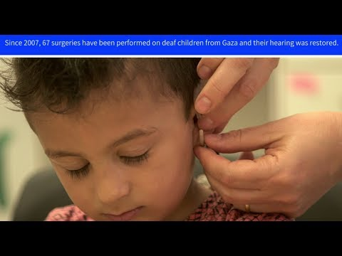 Cochlear implants allow Palestinian children, treated in Jerusalem, to hear again