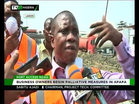 Port access road : Business owners begin palliative measures in Apapa