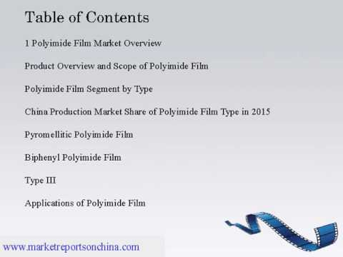 China Polyimide Film Market Research Report