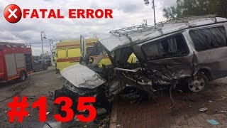 🚘🇷🇺[ONLY NEW] Russian Car Crash Road Accidents Compilation (5 June 2018) #135