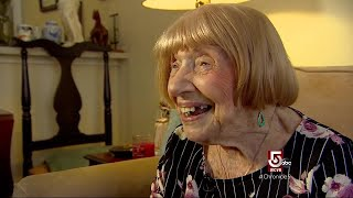 103 years young, giving Amazon's Alexa a run for her money