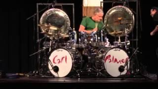 Carl Palmer -Sugar Loaf PAC,NY-ELP Legacy-Carl Palmer Soundcheck