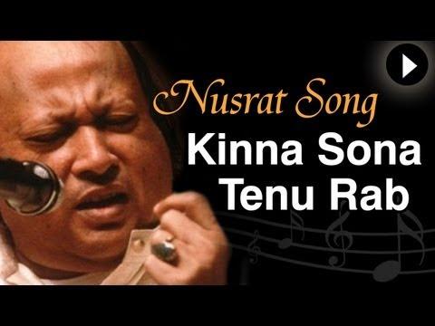 Kinna Sona Tenu Rab Ne - Nusrat Fateh Ali Khan - Mast Nazron Se - Romantic Song