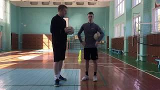 Мастер класс Сергея Шамонова по мини футболу