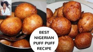 BEST NIGERIAN PUFF PUFF RECIPE | Kenny Olapade