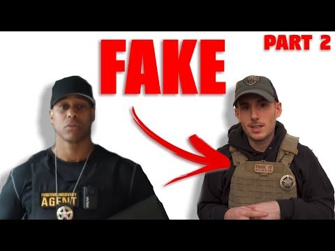 Man PRETENDS to be a Cop on Youtube (Patty Mayo Fake) | PART 2