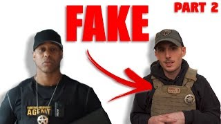 Man PRETENDS To Be a Cop on Youtube (Patty Mayo Fake) | PART 2 Toda...