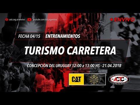 04-2018) C. del Uruguay: Sábado Entrenamientos TC
