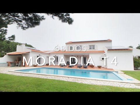 VENDE // Moradia T4 em Óbidos