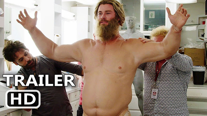 """Permanent Link to AVENGERS ENDGAME \""""Becoming Fat Thor\"""" Behind the Scenes Bonus Clip (2019) Chris Hemsworth Move HD"""