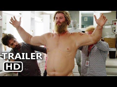 "AVENGERS ENDGAME ""Becoming Fat Thor"" Behind the Scenes Bonus Clip (2019) Chris Hemsworth Move HD"