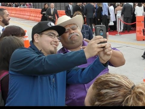 Don Cheto Greets Fans At The Overboard Premiere In Westwood