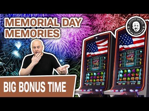 ⭐ Memorial Day Memories… 🦆 HUGE WIN On Duck Stamps & Other Slots