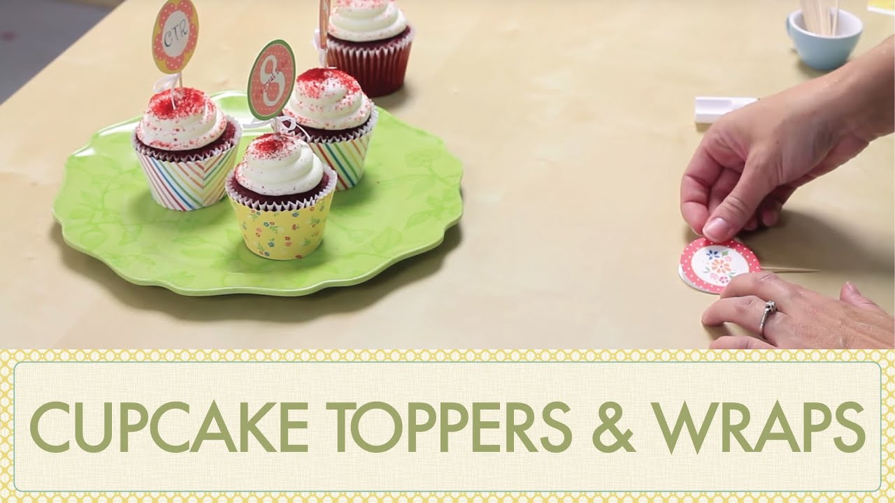 How To Make Cupcake Toppers How To Make Cupcake Wrappers Diy