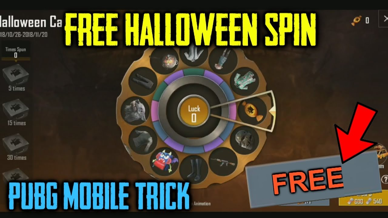 Pubg Mobile Free Spin Link