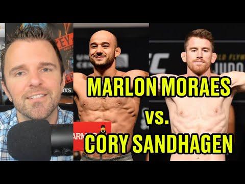 Reaction Marlon Moraes Vs Cory Sandhagen Set For Oct 10 Youtube