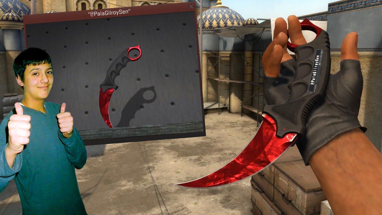 My New Cs Go Knife Inventory Showcase Karambit Ruby