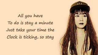 STAY - Zedd | J.Fla Cover (Lyrics)