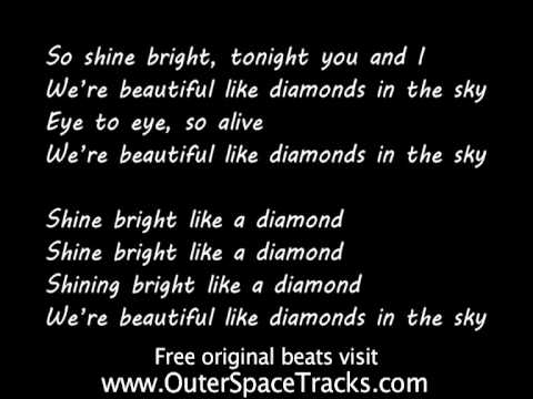 Rihanna - Diamonds (Karaoke Version) - YouTube