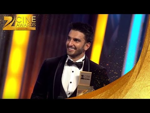 Zee Cine Awards 2016 Best Actor Male Ranveer Singh & Amitahbh Bachchan