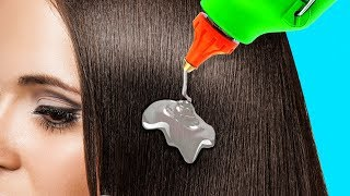 20 SIMPLE HAIR HACKS YOU\'LL WISH YOU KNEW EARLIER