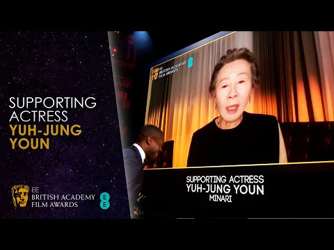 Minari Youn Yuh Jung Won Supporting Actress & Gave Hilarious Acceptance Speech in BAFTA Awards 2021